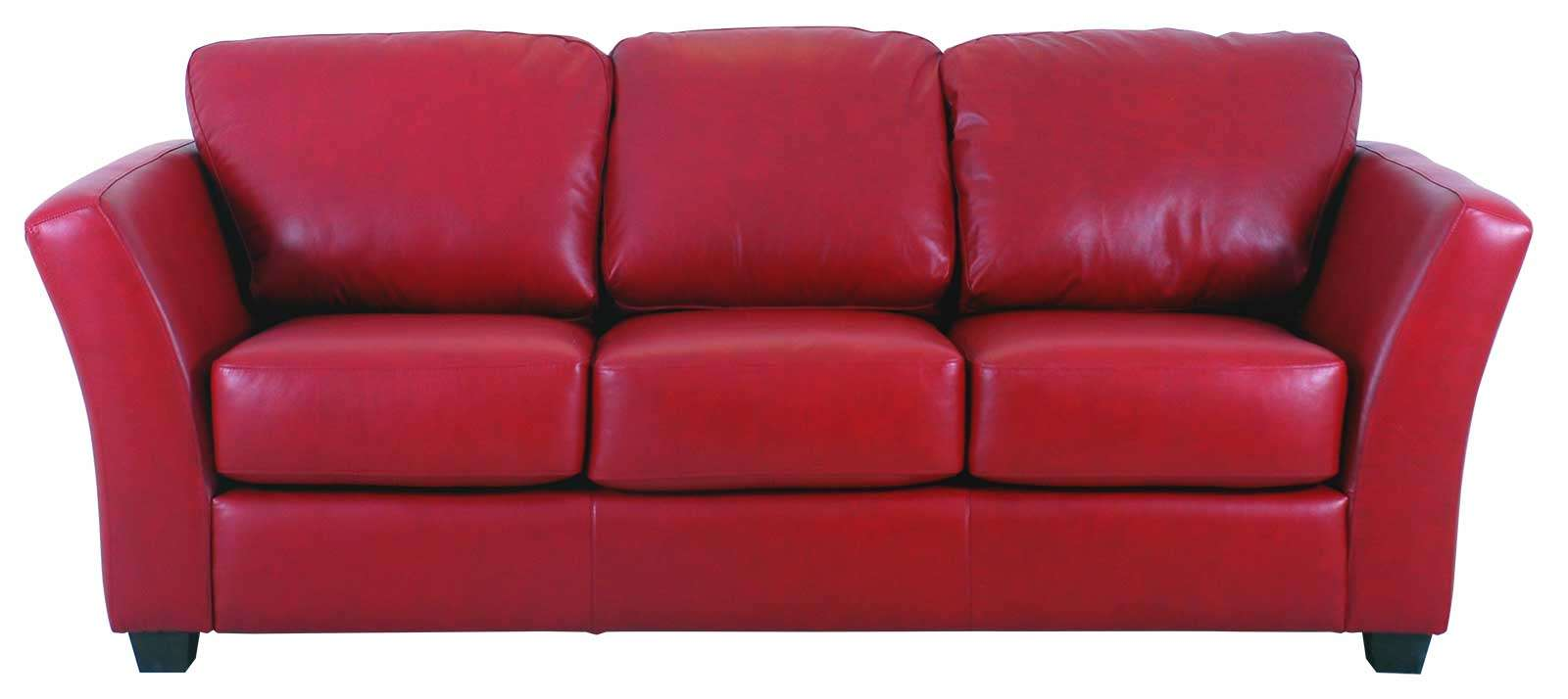 Decorating With A Red Leather Couch