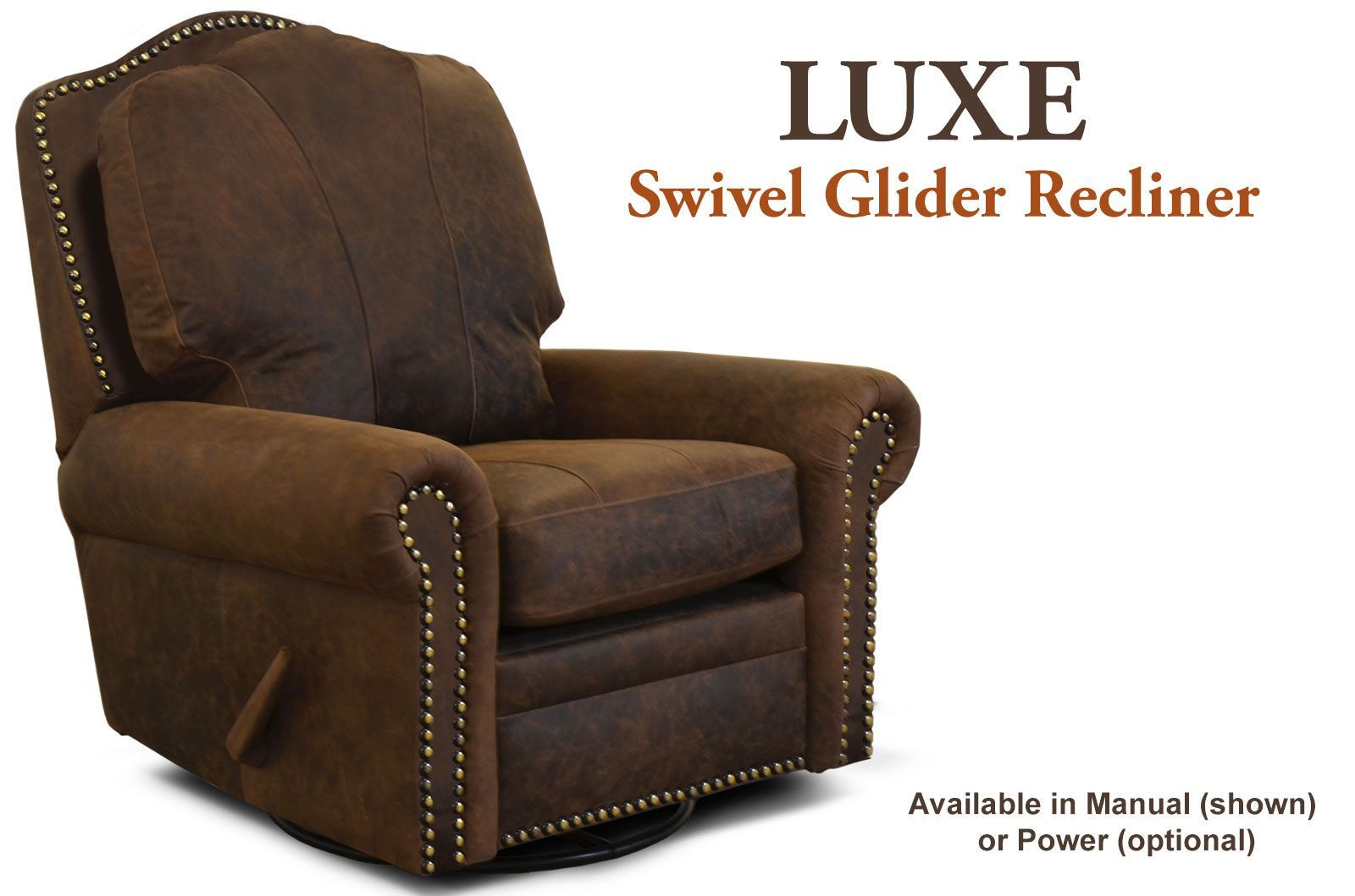 We can custom build this Luxe Swivel Glider Recliner for you in multiple configurations and imported leathers. Need a matching Sofa Love Seat or Ottoman?  sc 1 st  The Leather Sofa Company & Leather Recliners u0026 Incliners u2039u2039 Styles u2039u2039 The Leather Sofa Company islam-shia.org