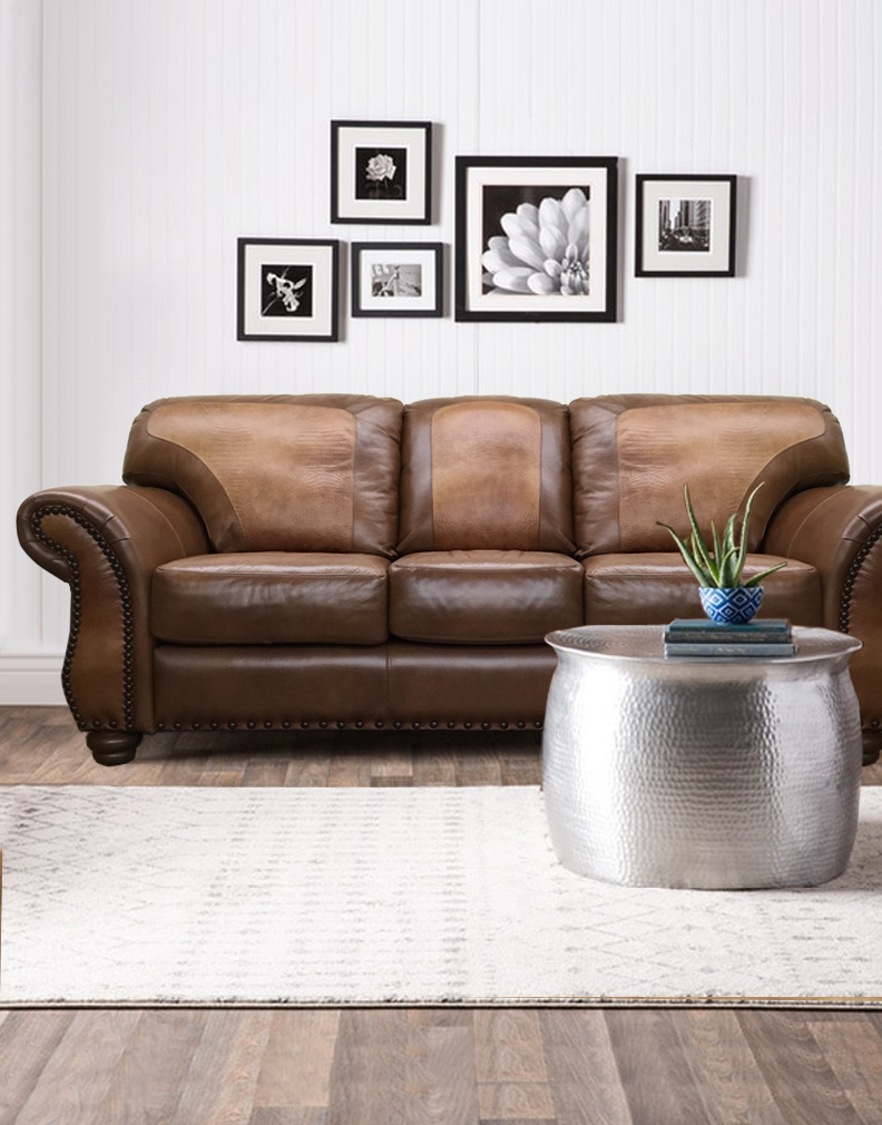 custom leather furniture made in texas