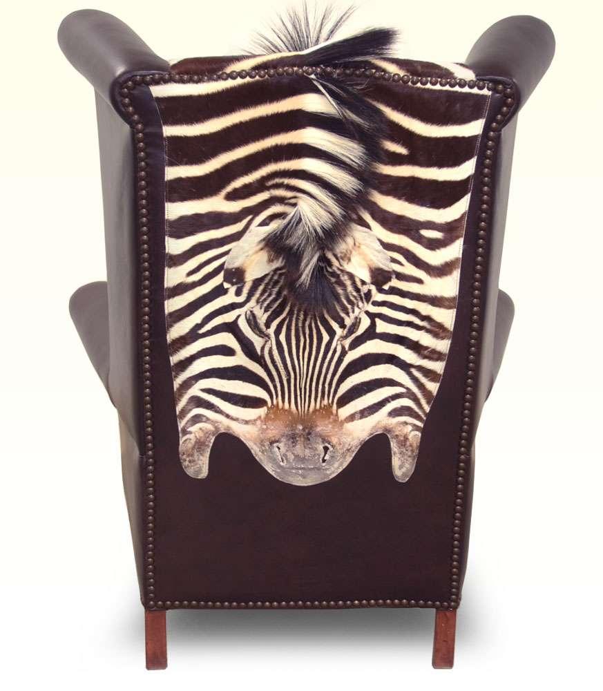 Wonderful Safari Collection King Chair Back View