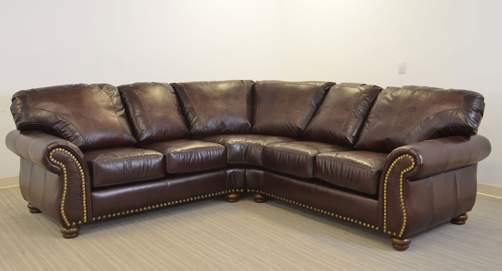Old Fashioned Leather Sofa