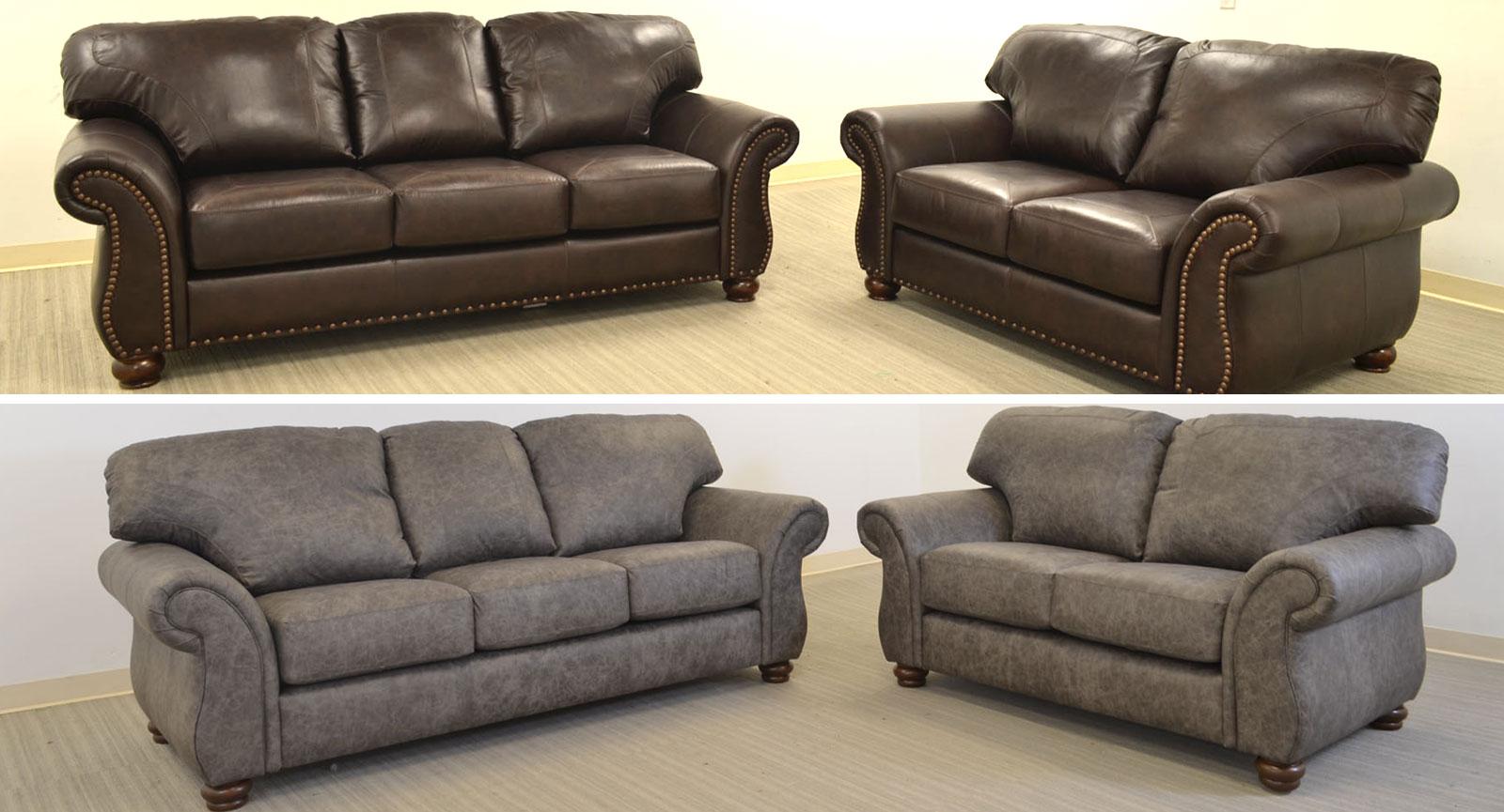 Sofa grande brown and coffee rio grande corner sofa right for Muebles corman