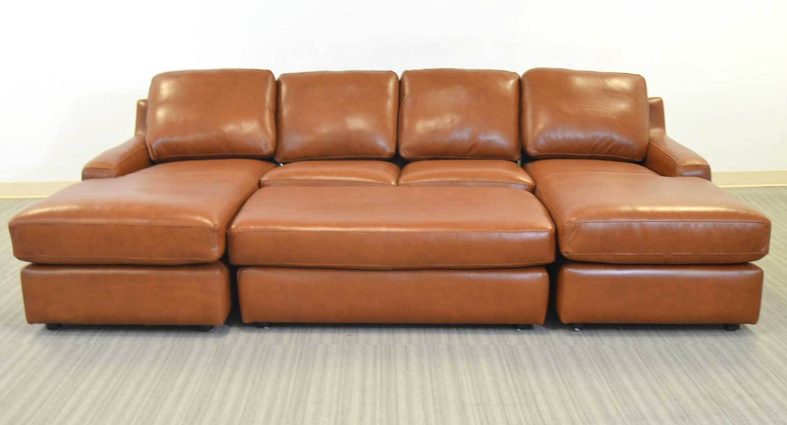 boulevard sectional rsf corner sofa armless loveseat u0026 lsf chaise right and left arm chaise armless loveseat ottoman a