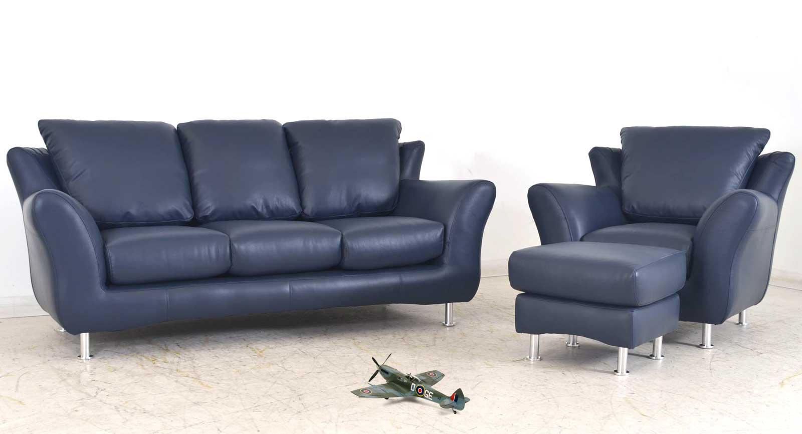 Three Seat Sofa Chair Ottoman