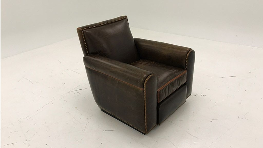 Factory Wyoming Chair Brompton Cocoa Brown
