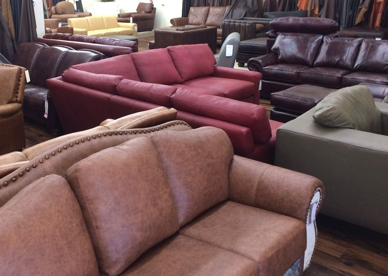 Colors of leather furniture