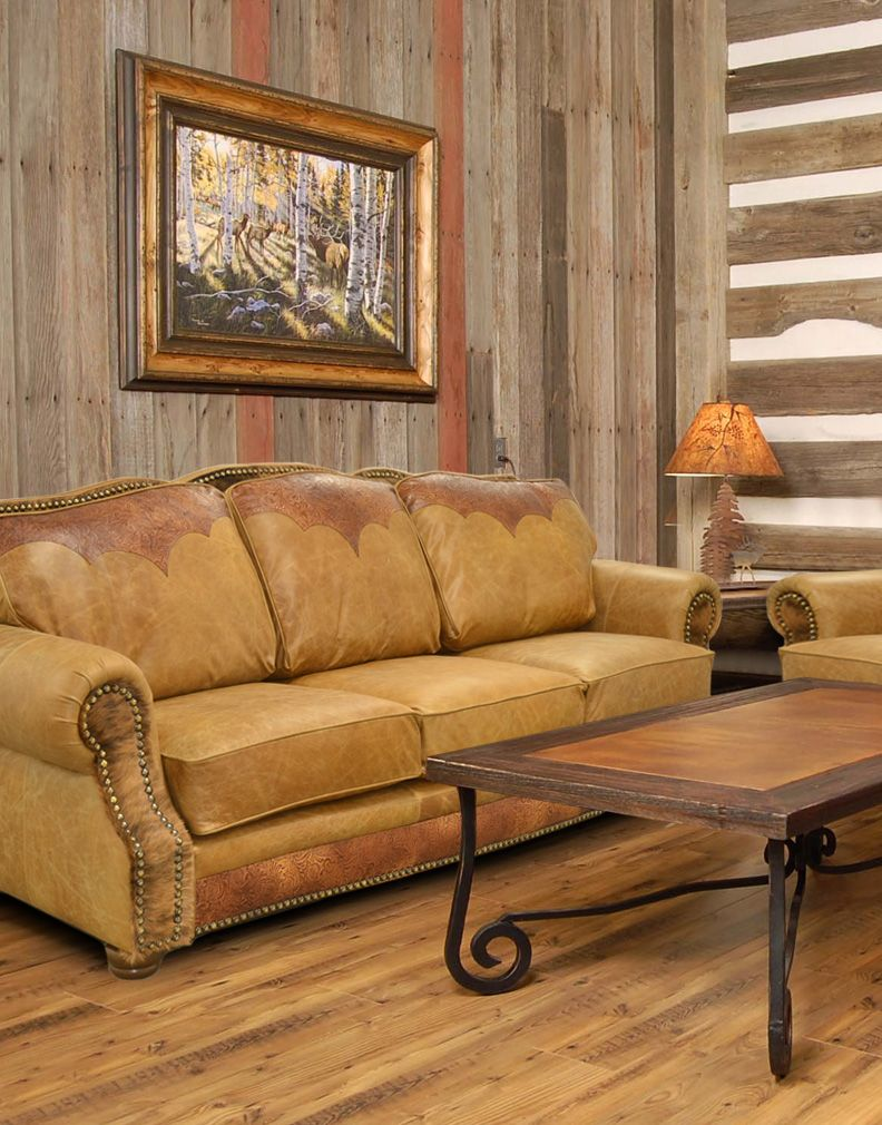 Decorating With Transitional Leather Furniture