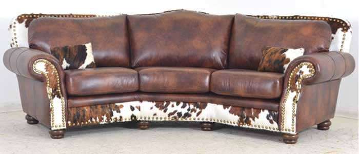 Genial Western Style Leather Furniture