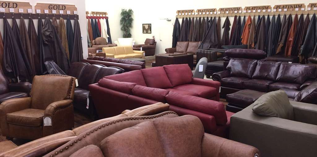 The Leather Sofa Co. Outlet Store In Lewisville, TX.