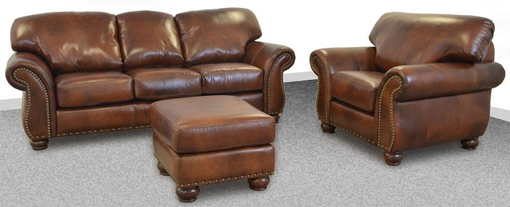 Wonderful Custom Leather Sofas