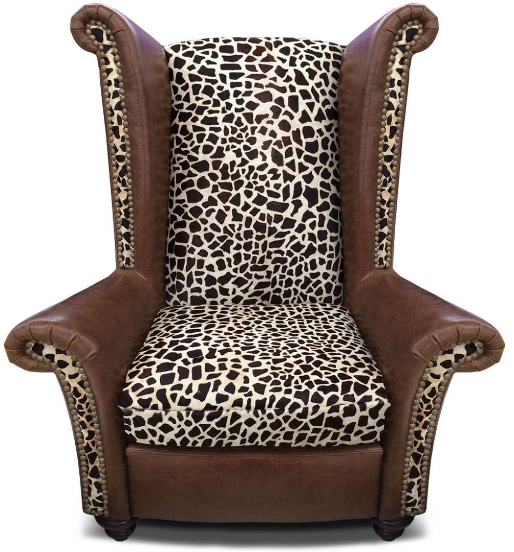 Leather Furniture Company: Safari Furniture Collection King Chair ‹‹ The Leather Sofa