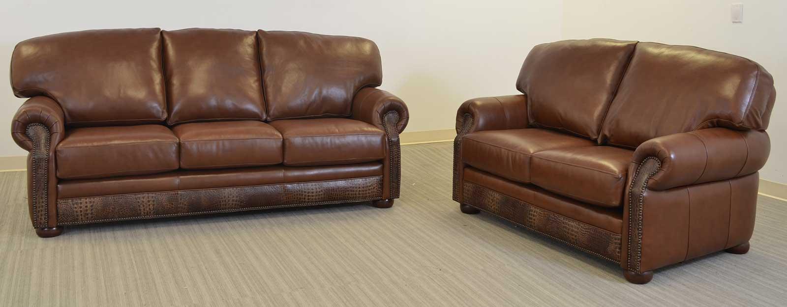 Chicago Sofa The Leather Sofa Company ~ All Leather Sofa And Loveseat