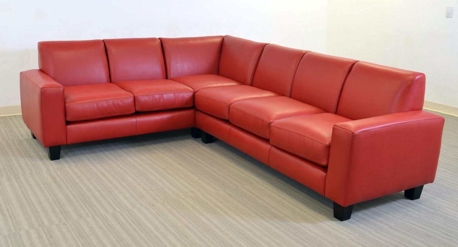Elegante 5 Seat Sectional Square Corner