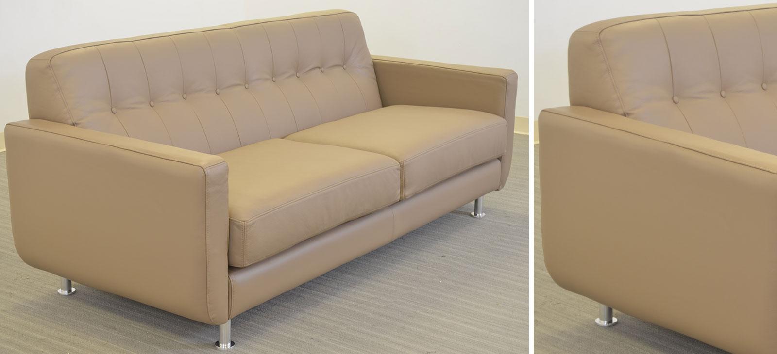 Greta Sofa ‹‹ The Leather Sofa pany