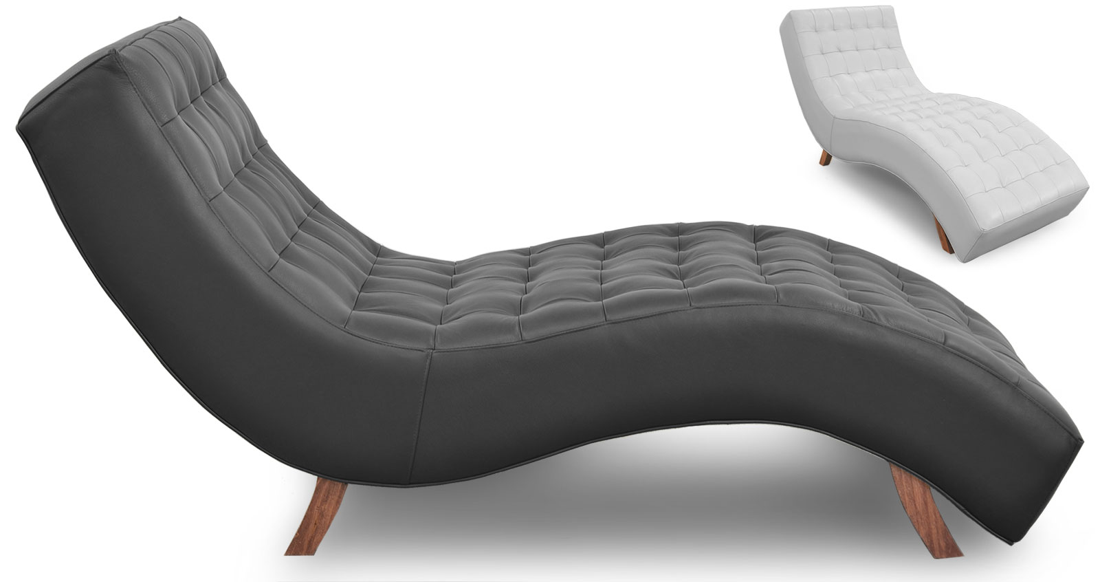 Italia Chaise Lounge The Leather Sofa Company