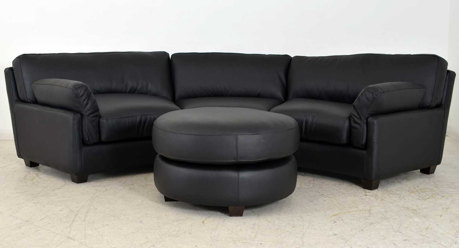 Ottomane sofa interesting image of leather ottoman couch for Sofa ottomane